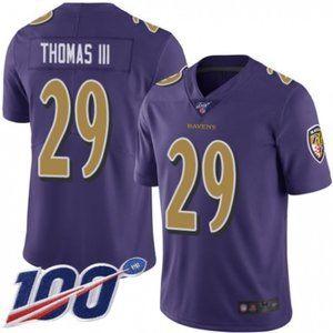Baltimore Ravens Earl Thomas 100th Season Jersey